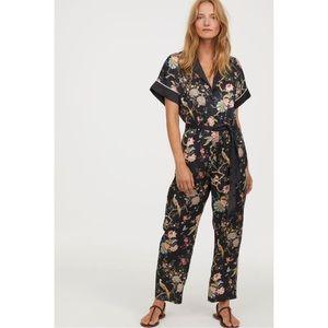 GP & J BAKER x H&M Floral Patterned Jumpsuit